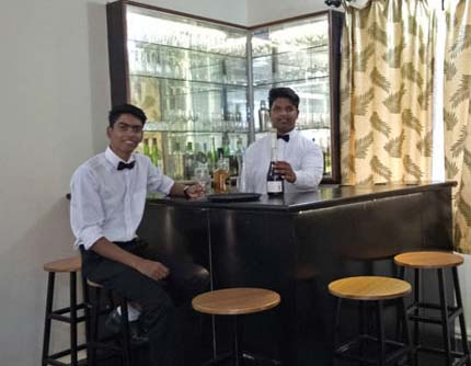 On completion of this course, the candidates are capable of working in wide range of employment in the Hospitality sectors